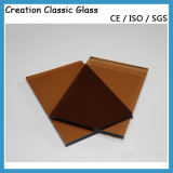 4mm Bronze Tinted Glass, Bronze Float Glass with ISO9001 Certificate pictures & photos
