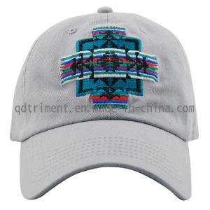 Popular Cotton Twill Embroidery Leisure Baseball Cap (TMB0894) pictures & photos