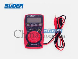 Suoer Factory Low Price Portable Multimeter (SD-10A) pictures & photos