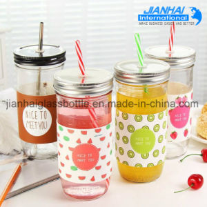 Wholesale Customization Clear Round Glass Mason Jar pictures & photos