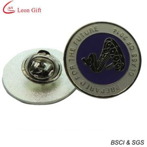 Fancy Gold Metal Enamel Lapel Pin for Promotion Gift (LM1045) pictures & photos
