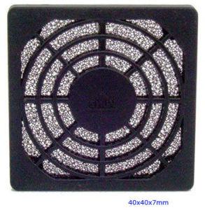 Plastic Fan Guard, Triple Dust Network, 40X40X7mm pictures & photos
