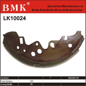 Adanced Quality and Duarable Brake Pad (LK10024) pictures & photos