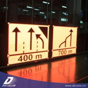 P20mm High Brightness Outdoor EMC Traffic LED Sign