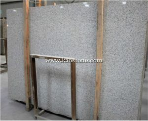 Natural White Granite Slab, Shandong White pictures & photos