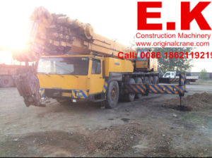 Liebhe160ton Hydraulic Original Used Mobile All Terrain Crane Construction Crane (LTM1160) pictures & photos