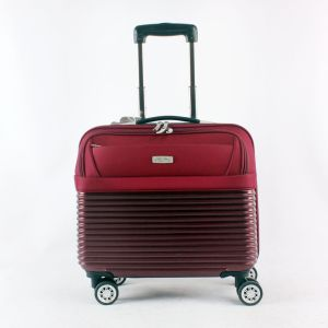 PU Trolley Computer Carrying Case for 4-Wheels Cabin Luggage pictures & photos