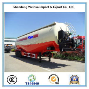 45cbm Fuwa Axle Bulk Cement Tanker Trailer of Semi-Trailer pictures & photos