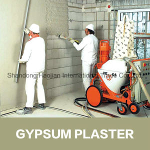 Gypsum Based Plaster Wall Leveling Mortar Additive HPMC pictures & photos