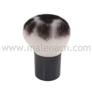 Kabuki Cosmetic Brush with Leopard Pattern pictures & photos