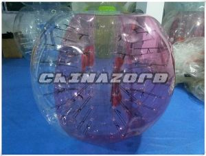 Good Quality Color Mixed PVC/TPU Inflatable Bubble Soccer pictures & photos