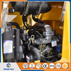 75HP Diesel Engine Small Tractor Wheel Loader with Attachment pictures & photos