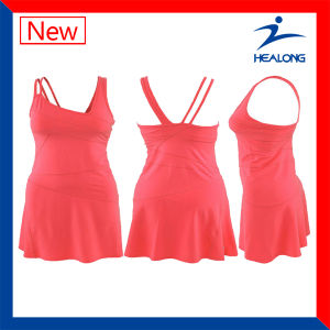 Healong Dye-Sublimation Printing Netball Jerseys pictures & photos