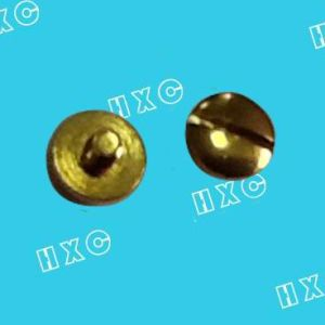 Round Head Slotted Machine Screw Fastener
