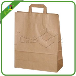 Recyclable Packaging Halloween Wholesale Plain Brown Craft Paper Bag pictures & photos