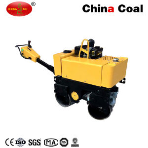 Double Drum Walk Behind Soil Hydraulic Vibratory Steel Roller Compactor pictures & photos
