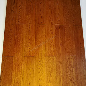 Wooden Flooring White Oak with Teak Color Flooring pictures & photos