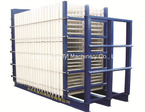 Vertical Type Molding Machine for Making Sandwich Wall Panel pictures & photos