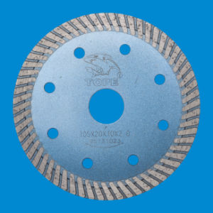 Diamond Disc Turbo Rim Saw Blade for Concrete/Granite/Marble pictures & photos