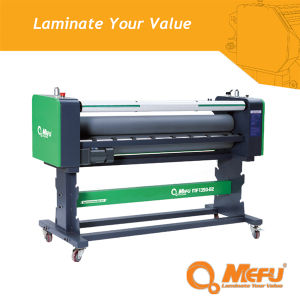 MEFU Brand Supply MF850-B2 Heat-Assist Cold Flatbed Laminator pictures & photos