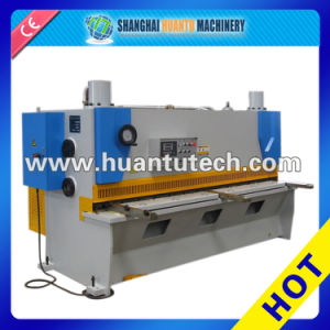 QC12y, QC11y Nc Shearing Machine with Estun Nc E10 System, Nc Shear Machine, Nc Hydraulic Shearing Machine Steel Plate Cutter pictures & photos