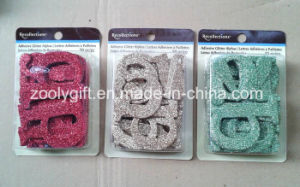 Adhesive Glitter Alphabet / Die-Cut Glitter Letters Paper Decorative Embellishment pictures & photos