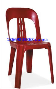 Anna Coffee Plastic Chair Outdoor Chair pictures & photos