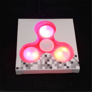 Fidget Spinner Finger Spinner LED Light ABS EDC Stress Wheel Hand Spinner for Kids Autism Adhd Anxiety Stress Relief Focus Toys pictures & photos