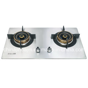 2 Burner Blue Flame Stainless Steel Built-in Hob pictures & photos