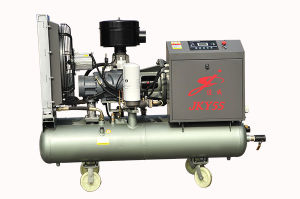 Portable Screw Compressor with Air Tank Jky55-8
