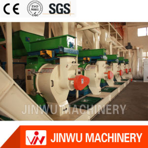 China High Effective Vertical Ring Die Pellet Mill Line