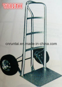 Heavy Duty Cargo Hand Truck Hard Hand Trolley pictures & photos
