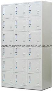 Changing Room 18 Door Metal Steel Iron Locker/Wardrobe/Cabinet pictures & photos
