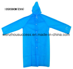 Custom Hooded Rain Poncho pictures & photos