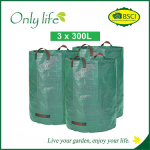 Onlylife Large Heavy Duty Garden Leaves Waste Bag Storage Bag pictures & photos