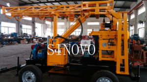 Spindle Type Trailer Little Water Well Core Drilling Rig pictures & photos