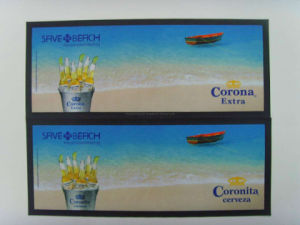 Heat Transfer Printing Rubber Bar Runners pictures & photos