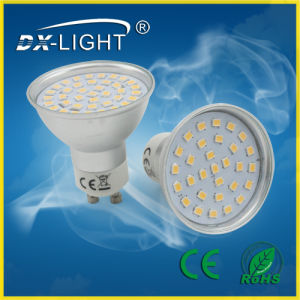 3.5W/AC220V-240V/ W/Ww Aluminum&Plastic LED Spot Light with CE&RoHS