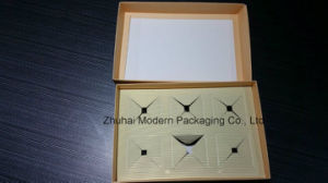 Inquiry Customize Flat Mooncake Paper Box pictures & photos