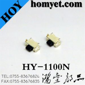 High Quality Tact Switch/Mini SMD Switch (HY-1100N) pictures & photos