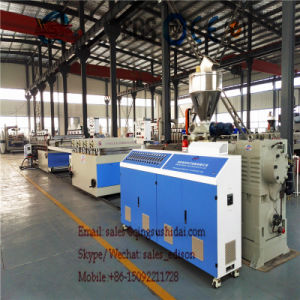 PVC Foamed Panel Extrusion Line pictures & photos