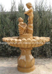 Angel Stone Carving Fountain, Home Fountain pictures & photos