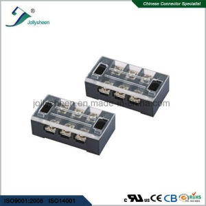 6pin pH12.10mm Barrier Terminal Blocks 2 Rows with Clear PC Safety Cover pictures & photos