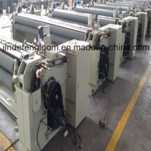 Double Nozzle Shuttle Less Water Jet Power Loom Machine pictures & photos