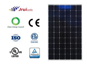Anti-Reflection Coated Glass 270W 4bb Solar Module pictures & photos