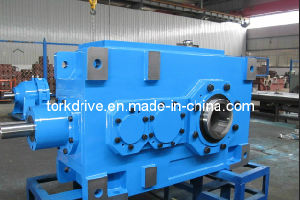 B Helical Bevel Right Angle Gearbox Hollow Output (Flender type) pictures & photos