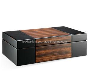 Wood Valet Travel Case Jewelry Box Organizer pictures & photos