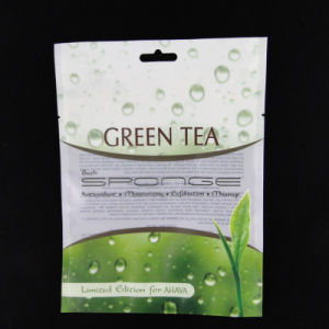 Matte Finish Three-Side Laminated Plastic Packaging Bag for Tea pictures & photos