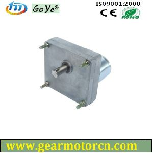 High Torque Low Speed 76m Base Flat Metal DC Gear Motor 12V-28VDC pictures & photos