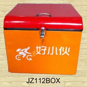 Pizza Delivery Box Fiberglass Motorcycle Scooter Vending Box (JZ112) pictures & photos